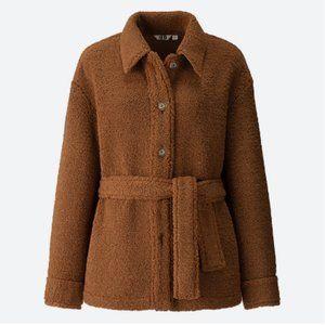 RARE Uniqlo U Lemaire faux shearling jacket XS